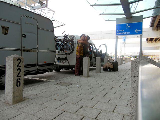Airport in Frankfurt