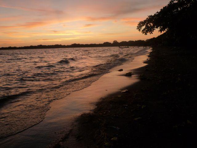 The lake next morning